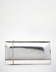 Клатч цвета металлик Carvela - Серебряный