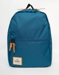 Рюкзак с карманом на молнии Workshop - Синий
