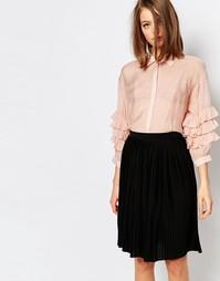 Рубашка с рукавами‑рюшами Sister Jane Warwick - Розовый