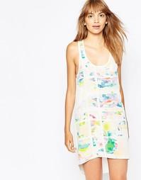 Шелковистое платье с цветочным принтом Suboo Pop - Принт