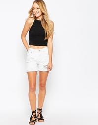 Джинсовые шорты Glamorous - Белый