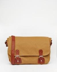 Холщовый портфель ASOS - Рыжий