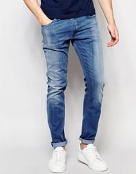 Светлые эластичные джинсы зауженного кроя Replay Jondrill - Светлый