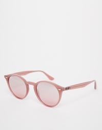 Круглые солнцезащитные очки Ray-Ban - Розовый