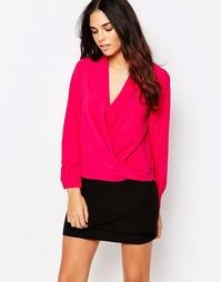 Блузка с запахом Hedonia Pheobe - Розовый
