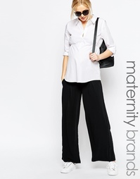 Юбка-брюки для беременных с широкими штанинами Mamalicious Maternity Mama.Licious