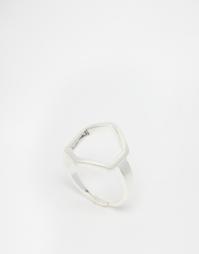 Посеребренное регулируемое кольцо Pilgrim - Серебряное покрытие