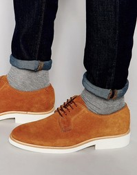 Туфли на шнуровке Sebago Machall - Бежевый