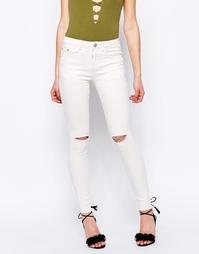 Облегающие джинсы Glamorous - Кремовый