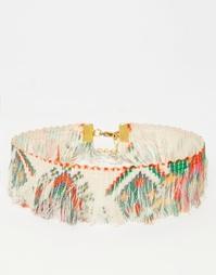 Ожерелье-чокер с бахромой Suzywan - Boho