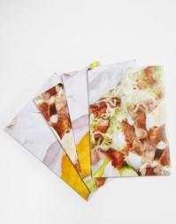 4 листа подарочной упаковочной бумаги Brainbox Candy - Мульти Gifts