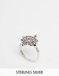 Серебряное кольцо с цветным дизайном Regal Rose FLEUR - Серебряный