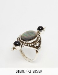 Кольцо из чистого серебра с тремя камнями Regal Rose FABLE