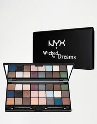 Набор теней для век NYX Wicked Dreams - Wicked dreams