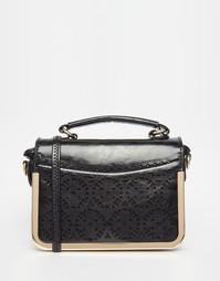 Квадратная сумка через плечо Liquorish - Черный