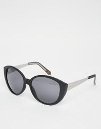 Солнцезащитные очки кошачий глаз Ruby Rocks - Черный