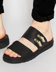 Черные сандалии из неопрена ASOS - Черный