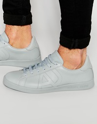 Кроссовки с логотипом Armani Jeans - Серый