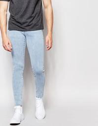Супероблегающие джинсы Dr Denim Dixy - 80s stone