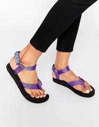 Фиолетовые сандалии Teva Original Azura - Фиолетовый