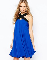 Свободное платье Hedonia Lacey - Кобальтовый