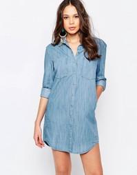 Пляжное платье-рубашка Seafolly Journey - Синий
