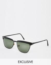 Винтажные солнцезащитные очки-авиаторы Hindsight Gonzalez - Черный