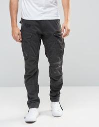 Брюки с накладными карманами с клапанами G-Star - Черный
