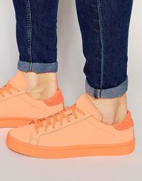 Оранжевые кроссовки adidas Originals Court Vantage adicolor S80257