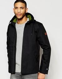 Двусторонняя куртка с капюшоном Lyle & Scott - Черный