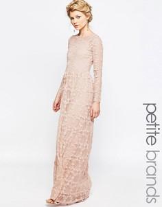 Платье макси с цветочной аппликацией True Decadence Petite