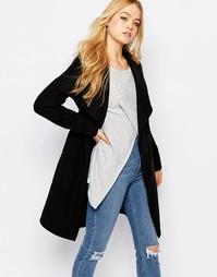 Пальто с поясом JDY - Черный