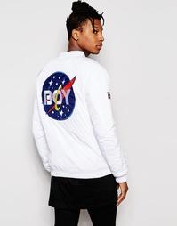 Куртка-пилот Boy London Space - Белый