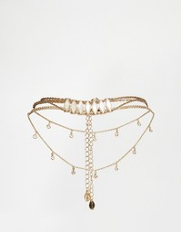 Ожерелье в несколько рядов ALDO Blackfalds - Золотой