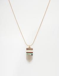 Ожерелье с подвеской ALDO Astoawen - Золотой