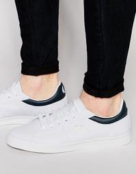 Парусиновые кроссовки Fred Perry Sidespin - Белый