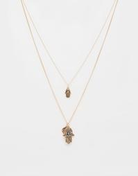 Многоярусное ожерелье ALDO Libere - Золотой