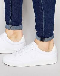 Кожаные кроссовки Fred Perry Hopman - Белый