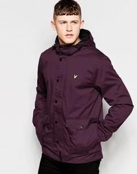 Куртка из микрофлиса с подкладкой Lyle & Scott - Красный