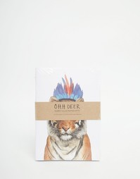 Набор из 3 тетрадей формата A6 Ohh Deer - Мульти