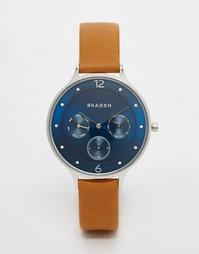 Синие часы Skagen Chrono SKW2310 - Рыжий