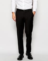 Эластичные брюки кроя слим Vito - Черный