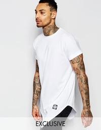 Асимметричная футболка Sixth June - Белый