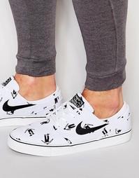 Парусиновые кроссовки Nike SB Zoom Stefan Janoski 705190-101 - Белый