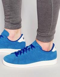 Синие замшевые кроссовки Nike Tennis Classic CS 829351-400 - Синий