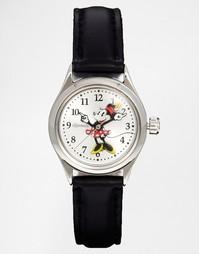 Часы с Минни Маус и черным ремешком Disney Classic - Черный