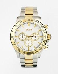 Часы из нержавеющей стали c золотистой отделкой 1512960 Hugo Boss
