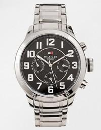 Часы-хронографы с ремешком из нержавеющей стали Tommy Hilfiger Trent 1