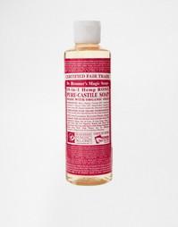 Жидкое органическое кастильское мыло с ароматом розы Dr. Bronner 236 м