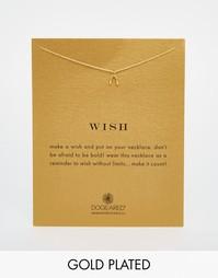 Ожерелье с крохотной золотой дужкой Dogeared - Золотой